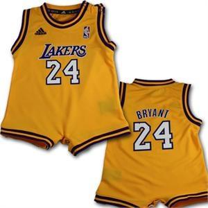 So adorable! Kobe Bryant Baby Romper Jersey