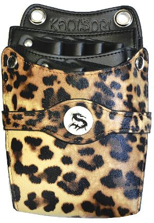 KAMISORI Leopard holster for shears and tools
