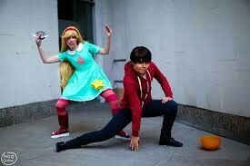 Star Butterfly and Marco Diaz cosplay