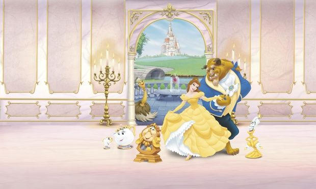 Best Beauty And The Beast Wall Mural Photo Wallpaper 400 x 300