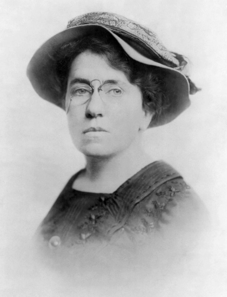 Emma Goldman was known for her political activism, writing, and ...