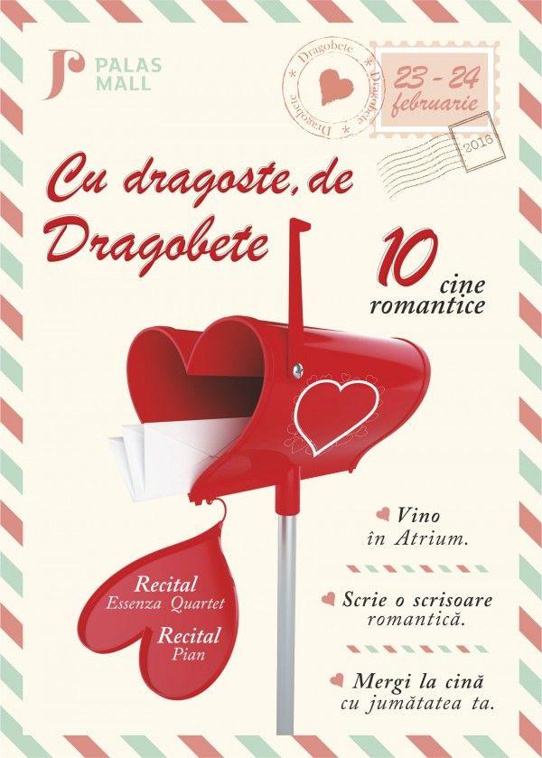 Cine romantice pentru scrisori de iubire, la Palas Mall