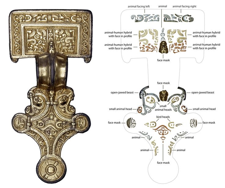 Decoding Anglo-Saxon art      Rosie Weetch, curator and Craig Williams, illustrator, British Museum