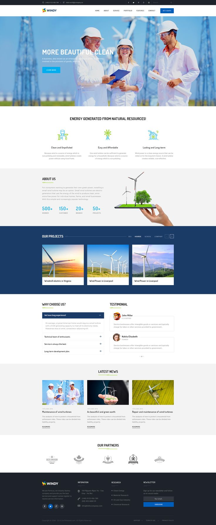 Windy - Wind Environmental Energy Theme • Download ➝ https://themeforest.net/item/windy-wind-environmental-energy-theme/15783657?ref=pxcr