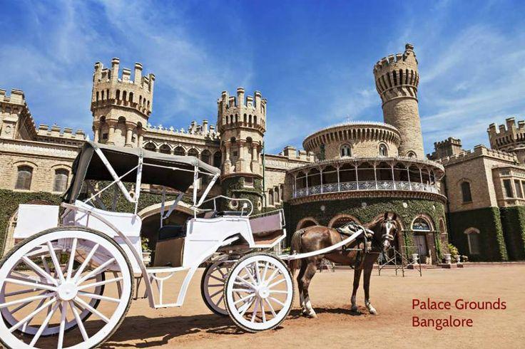 #Bangalore has beautiful locations like Palace Grounds #exoticlocation