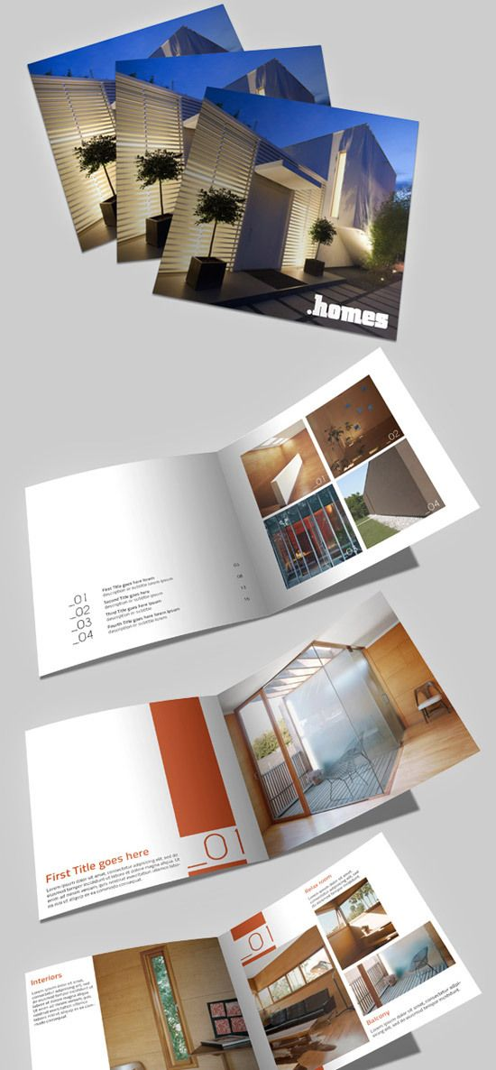 40 best Architecture Brochures images on Pinterest Editorial - architecture brochure template