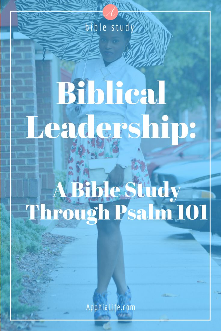 Using this bible study, in 16 days you will fully understand what biblical leadership looks like and how you can live out your life the way God desires. The Psalm 101 bible study is broken down in such a way that you will gain amazing understanding of the word of God.