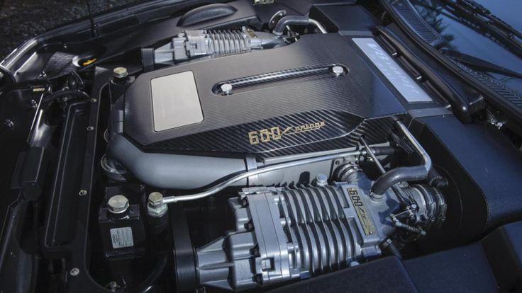 2000 motor Aston Martin Vantage Le Mans V600
