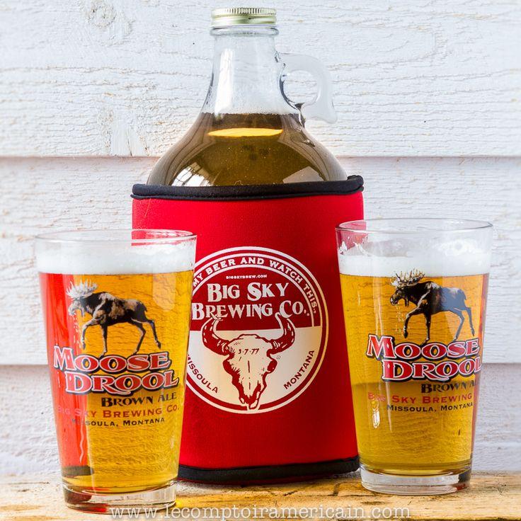 Koozie et Verres à bière Big Sky Brewing Co. #beer #bière #verre #bière #madeinusa #lecomptoiramericain #BigSkyBrewingCo #Montana #blonde #Ambrée#brasseur #brasserie Koozie #manchon #néoprène