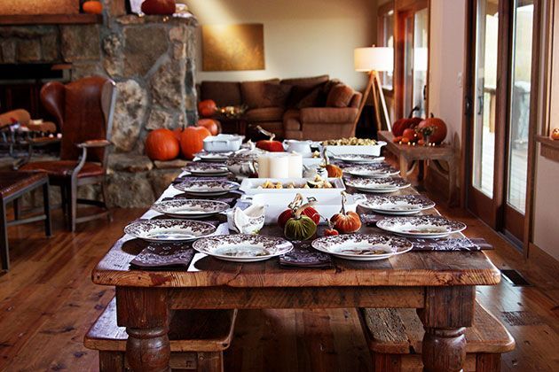 Zombies Were Here Farmhouse Style Table Dining Room