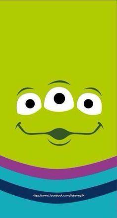 Wallpaper. Fondo de pantalla. Disney. Pixar. Toy story. Marcianitos.