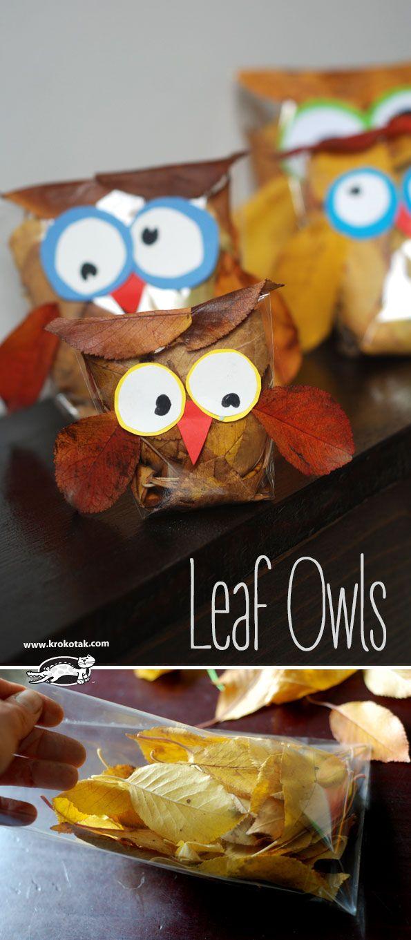 Leaf Owls