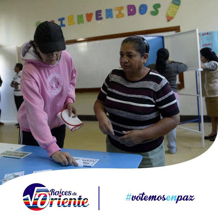 Los guatemaltecos saldrán una vez más a las urnas, el día domingo 25 de octubre, desde aquí te invitamos a participar en esta fiesta cívica, con una actitud pacífica y en armonía, respetando la diversidad de opinión y posturas, pero sobre todo los resultados de estas elecciones, por el bien de nuestros municipios y nuestra democracia. #votemosEnPaz  http://raicesdeoriente.com/tension-en-distritos-donde-se-repetira-eleccion-de-alcaldes/