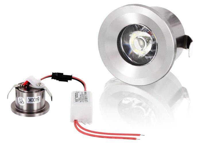 Vintage Power LED Einbaustrahler Horoz rund mini Watt matt oder g nzend
