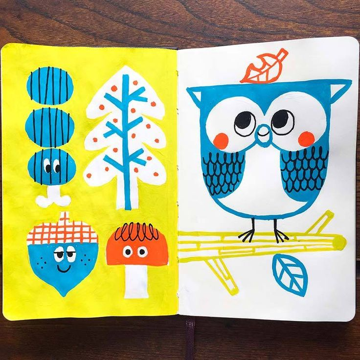Drawing Wonder • 本日のMoleskine手帳第2号。 まもなく10月ですね。早いな〜。