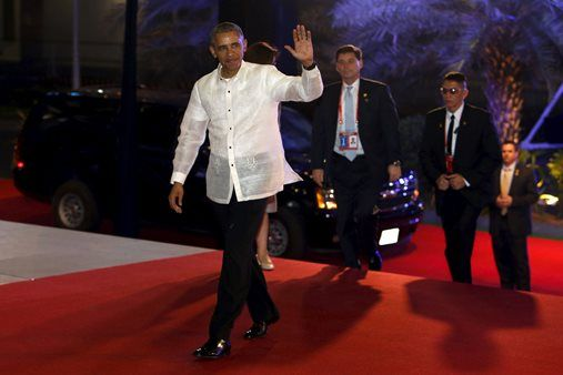 #APEC2015 #Obama #Barong #Philippines -- http://www.abs-cbnnews.com/lifestyle/11/18/15/look-obama-in-barong