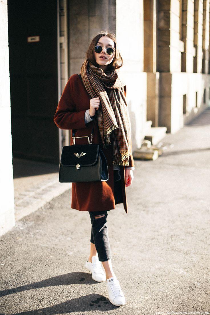 awesome How To Wear An Oversized Scarf • The Fashion Cuisine by http://www.globalfashionista.xyz/london-fashion-weeks/how-to-wear-an-oversized-scarf-%e2%80%a2-the-fashion-cuisine/