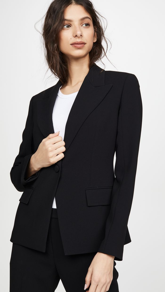 20 Basics Later, and You're Practically French   Blazer, Work wear ...