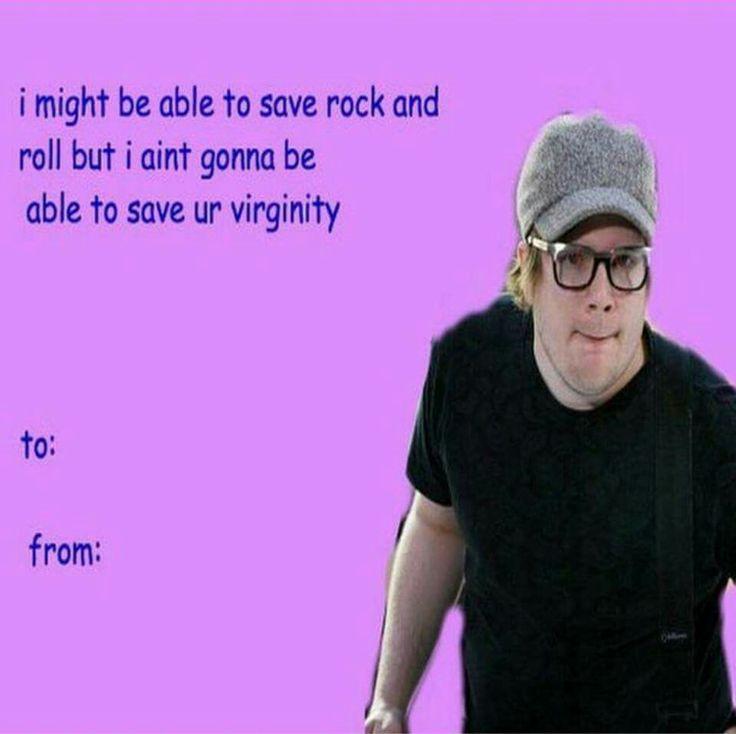 Hahahahaha. Fall Out BoyValentinesBoy ...