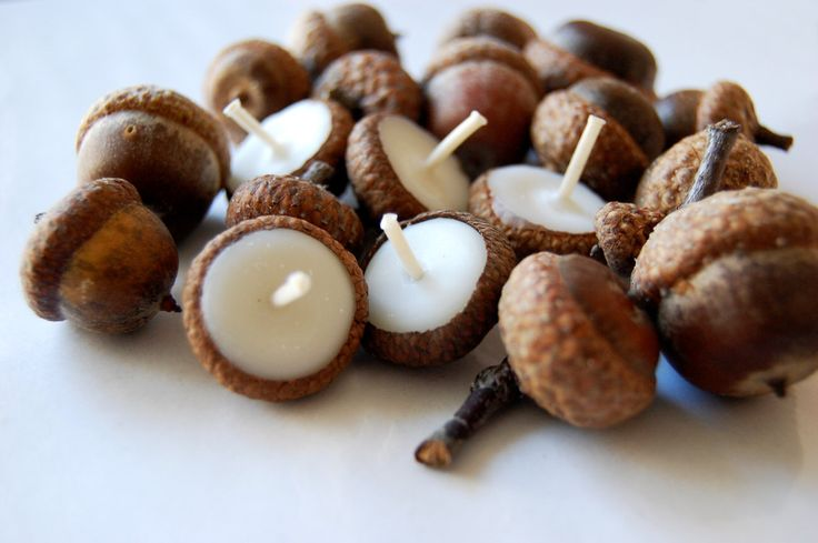 Eco friendly floating cinnamon scented acorn cap candle New Years Party Decor Baby Shower Decor Favors by LessCandles on Etsy https://www.etsy.com/listing/160347453/eco-friendly-floating-cinnamon-scented