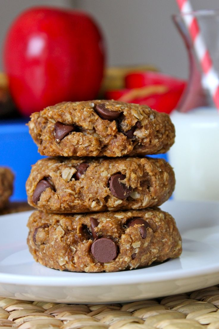 Back-To-School Breakfast Cookies {Made these this morning for the kids! They were a huge hit! Think homemade granola bars.}