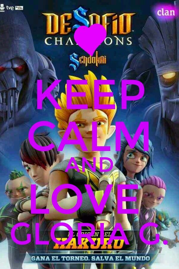 Keep calm and Love Gloria G.(Gloria Gálvez)