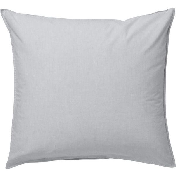 Hush Pillowcase in Light Grey design by Ferm Living ($26) ❤ liked on Polyvore featuring home, bed & bath, bedding, bed sheets, pillows, contemporary bedding, ferm living, light grey bedding and light gray bedding