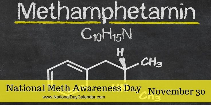 Let's work together to decrease demand of the highly-addictive drug during #MethAwarenessDay A national survey found one out of six young adults has used illicit drugs in the last month. Scientists now know why just one use of crystal meth (methamphetamine) can make a person feel hooked, and it must stop!
