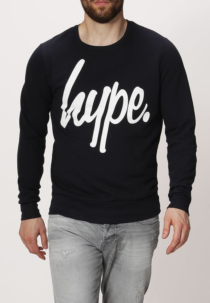 Hype Sweatshirt - navy/white - Zalando.de