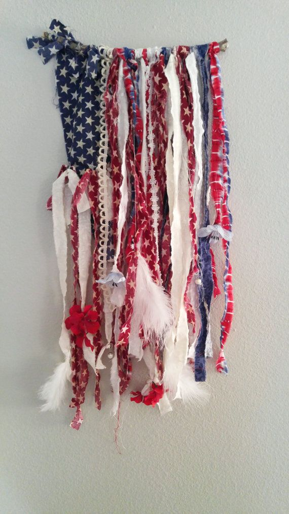 Boho American Flag- Support USA All Year Long