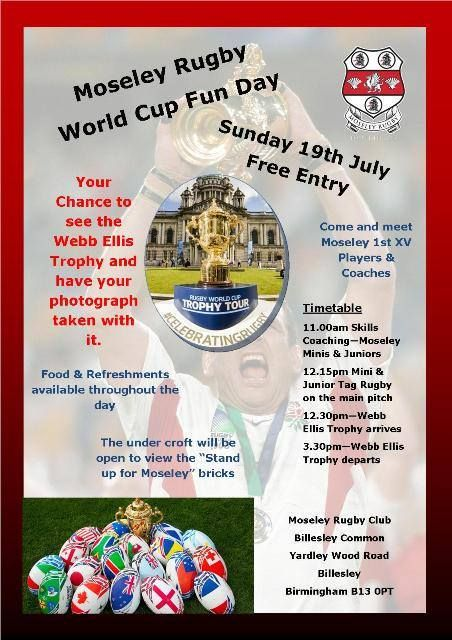 See the Rugby World Cup - plus free fun activities