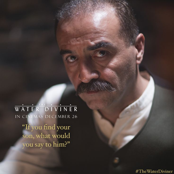 Yilmaz Erdogan in THE WATER DIVINER. Starring and directed by Russell Crowe, #TheWaterDiviner is an epic adventure set four years after the devastating battle of Gallipoli in Turkey during World War I. Australian farmer Connor (Crowe) travels to Istanbul to discover the fate of his sons, reported missing in the action.  eOne Facebook: https://www.facebook.com/eOneANZ  eOne Twitter: https://twitter.com/eOneANZ  eOne Instagram: http://instagram.com/eone_anz