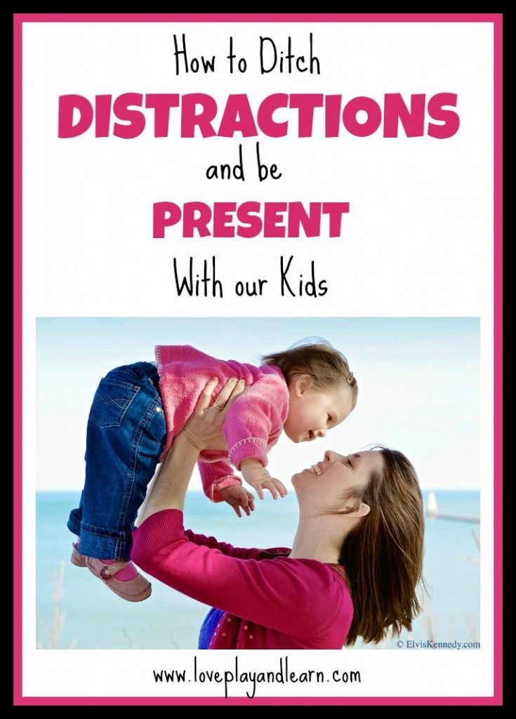 How to Ditch Distractions and be Present