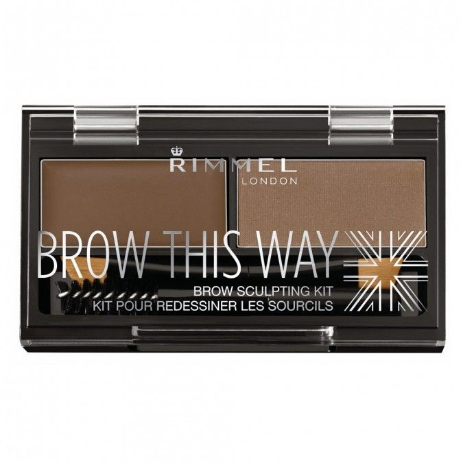 Eyebrow Powder Kit to Style Brows.