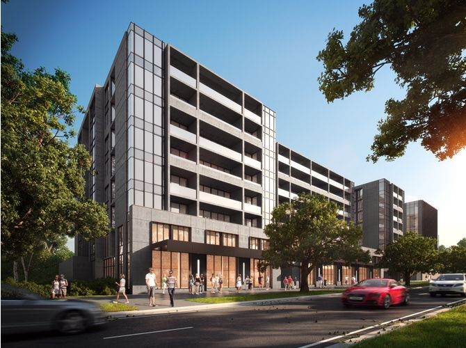 Penrose Apartments - Campbell by Stewart Architecture