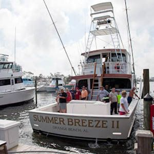 Alabama Deep Sea Fishing Charter Boat