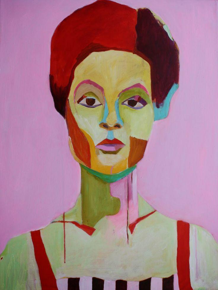Portrait of a Woman. Jane Susanne Andersen, Denmark.