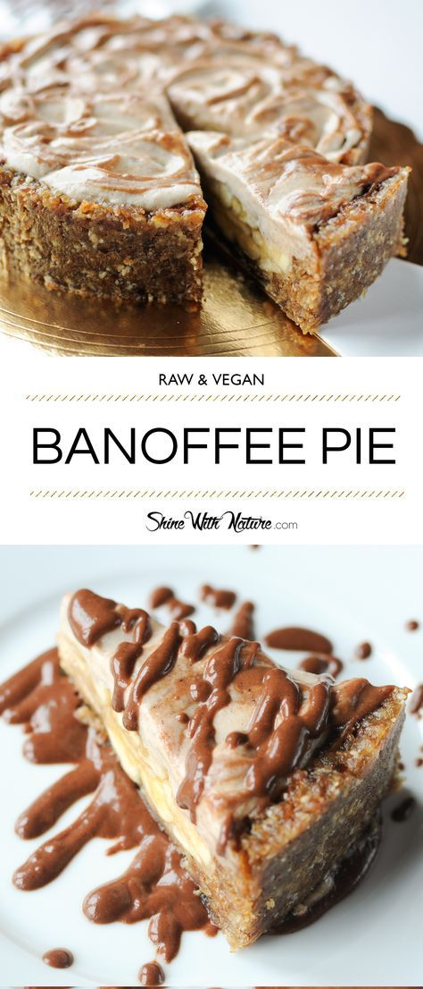 This pie … is so amazing. It's probably one of my best creations to date. And you know that I make A LOT of raw desserts, right? :) I first tried it in Bangkok, in a raw vegan restaurant called Rasayana Retreat (I really recommend going there if you are in Bangkok!). And since my first bite I just knew that I'll want to recreate it as soon as possible. So when we came back from Thailand I immediately went to work. | http://shinewithnature.com/raw-banoffee-pie/