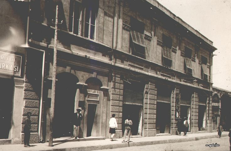 Osmanlı Bankası Adana Şubesi, 1930.