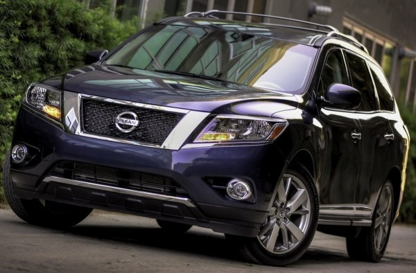 2013 Nissan Pathfinder SUV officially revealed