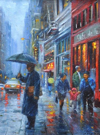 """""""In The Rain"""" by Po Pin Lin"""