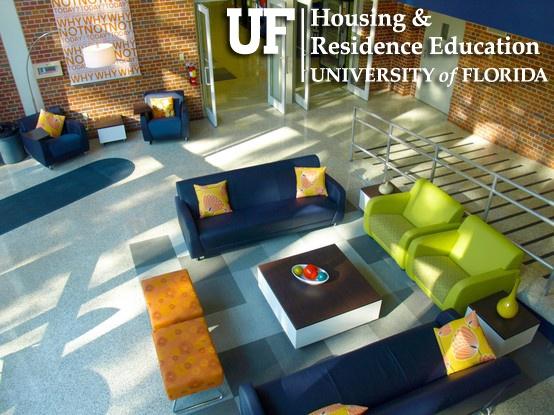 University Of Florida Housing Jennings Commons Area