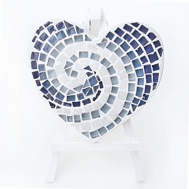 Нужно следовать своему сердцу. Даже если не знаешь куда оно приведёт. (с)  Коллекция сердец by kamos.com.ua http://www.kamos.com.ua/мозаика-сердца  #сердце #мозаика #декор