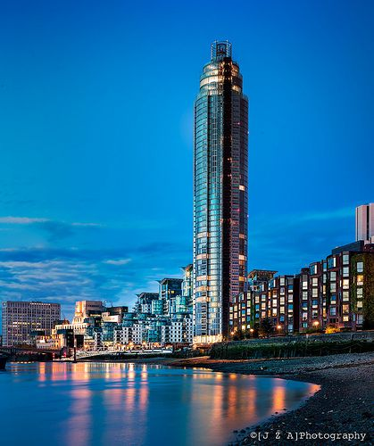 St George Wharf Tower by Broadway Malyan - part of the spectacular new skyline proposed for the Thames in Lambeth and Wandsworth