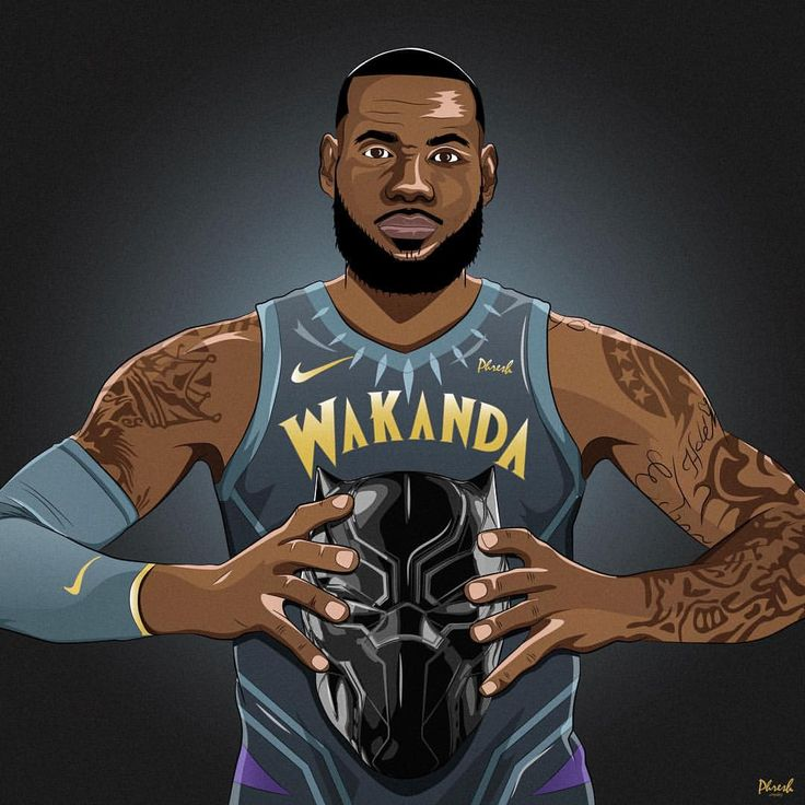 """4,945 Likes, 56 Comments - andrew pietersz (@phresh.royalty) on Instagram: """"WAKANDA FOREVER. Saw these concepts on @nbaontnt and was inspired to draw this, as Pop said…"""""""