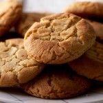 A favourite tea-time treat... peanut butter biscuit