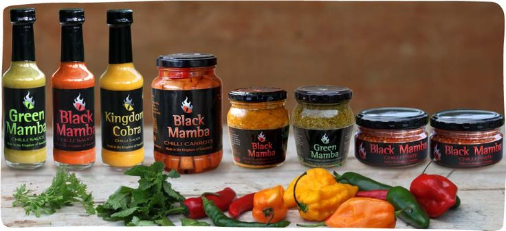 Chilli Venoms® black mama chilli