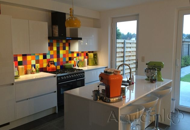 Tile: Azulejos Amarillo | Designtegels.nl