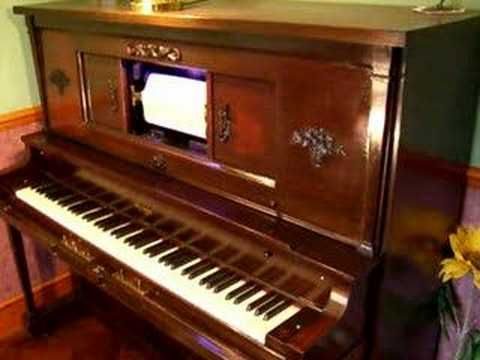 Pianola 6 Moonlight and Roses - YouTube