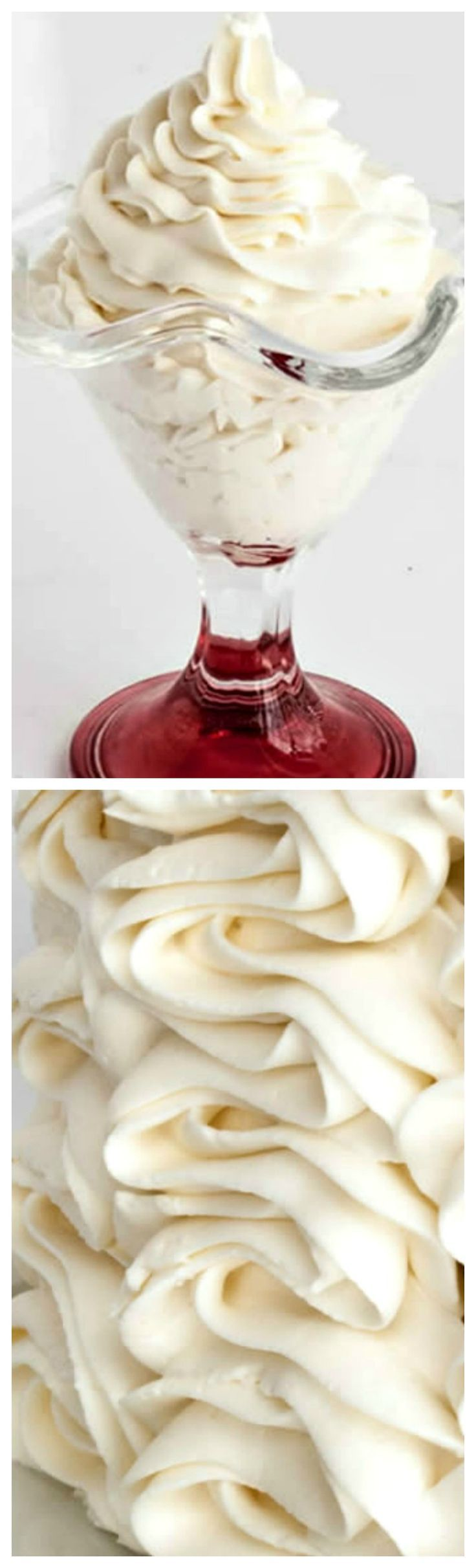 Whipped Cream Cream Cheese Frosting ~ A combination of two favorites, you'll use this creamy, not too sweet frosting for much more than topping cakes.